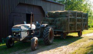 hay bales farm efficiency bottlenecks