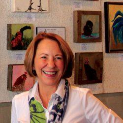 lynn rattray chickens artist