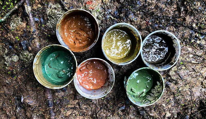 mud paint colors