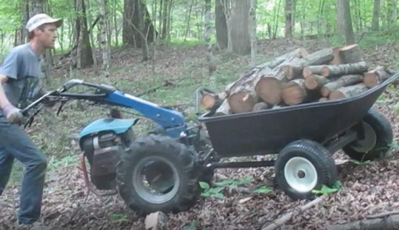 BCS walk-behind tractor implements