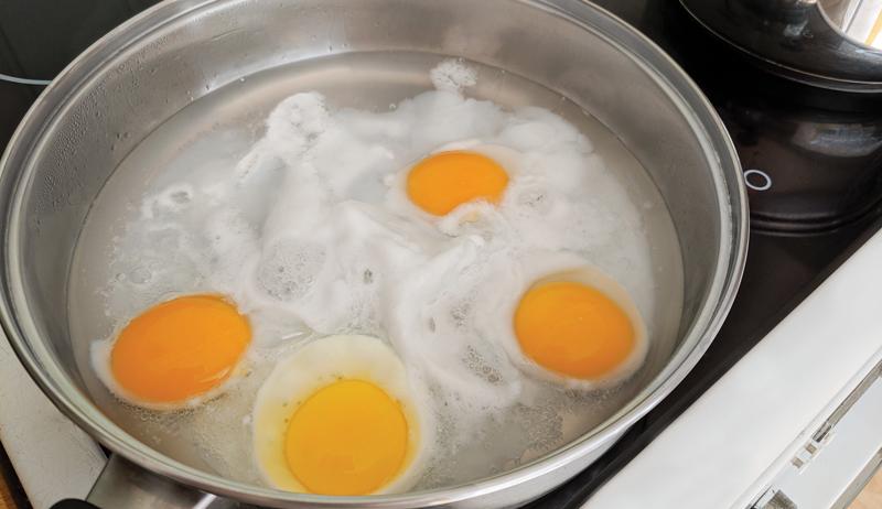 poached egg carbonara recipe