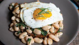 white beans eggs recipe